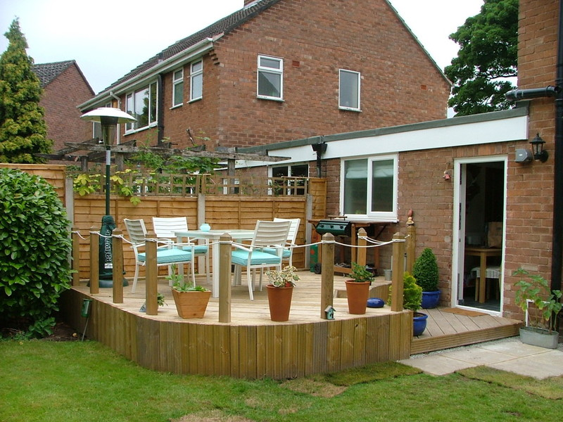 Concept Creation Gardening Landscaping Landscape Design - Garden decking rope
